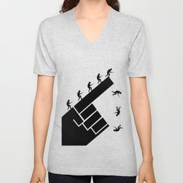 To the arms! Unisex V-Neck