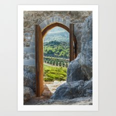 door with views Art Print