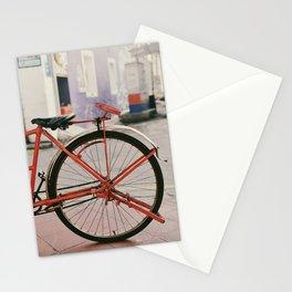 Wheel of a trishaw Stationery Cards