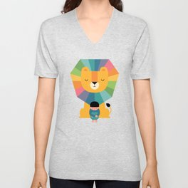 Courage Unisex V-Neck