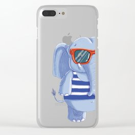 Elephante Clear iPhone Case