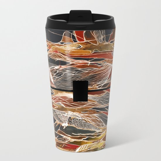 Midnight Fever Metal Travel Mug