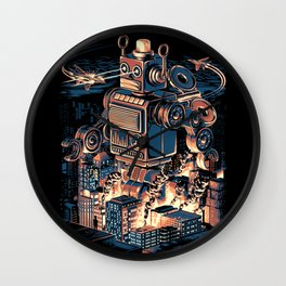 Night of the Toy Wall Clock