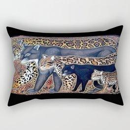 Big cats of Costa Rica Rectangular Pillow