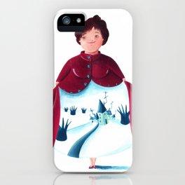 winter lady iPhone Case