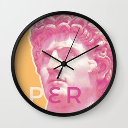 Acconciatore Wall Clock