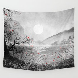 The red sounds and poems, Chapter II Wall Tapestry