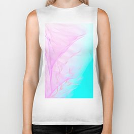 Pastel Motion Vibes - Pink & Turquoise #abstractart #homedecor Biker Tank