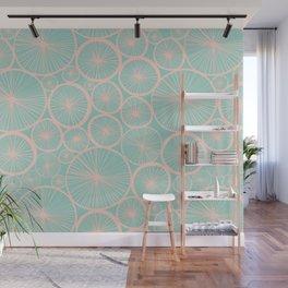 Pastel Wheels #society6 #pattern Wall Mural