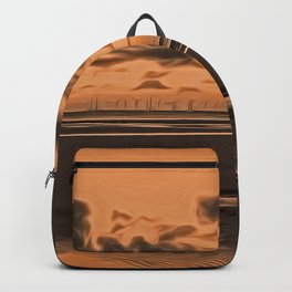 Another place at sunset Backpack