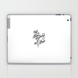 Hey is anybody out there?   [black] Laptop & iPad Skin