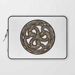 Bronze Medallion Laptop Sleeve