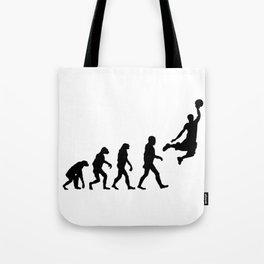 Basketball Evolution Tote Bag