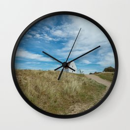 Sand covered Church in Skagen, Denmark Wall Clock