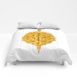 Pencil Brain Comforters