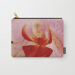 Close up Orchid #5 Carry-All Pouch