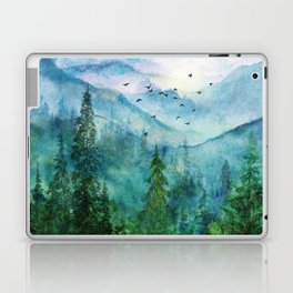 Spring Mountainscape Laptop & iPad Skin