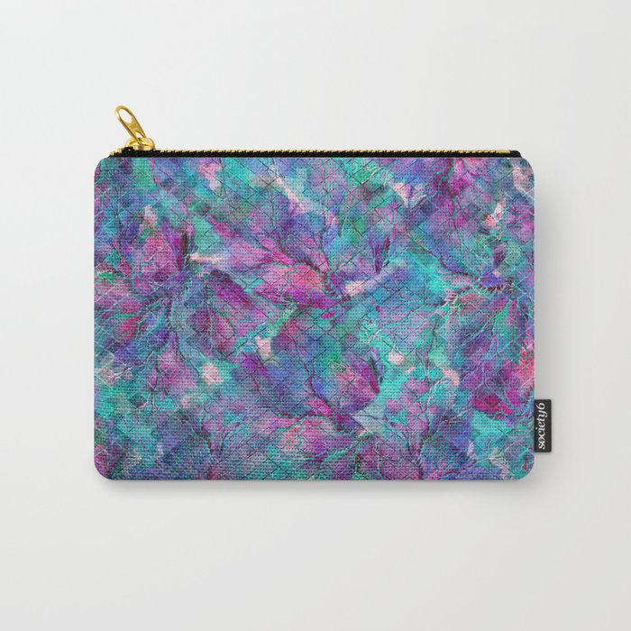 Frozen Leaves 2 Carry-All Pouch
