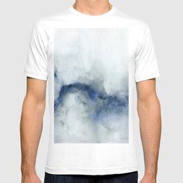 Indigo Abstract Painting | No.3 T-shirt