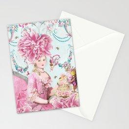 Marie Antoinette Wallflower Stationery Cards