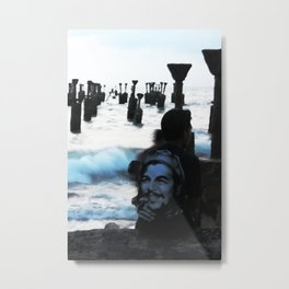 Che by the sea Metal Print
