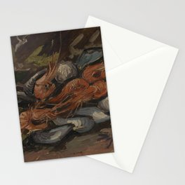 Prawns and Mussels Stationery Cards