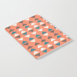 Triangles + Dots Notebook
