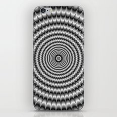 Explosion in Silver iPhone & iPod Skin
