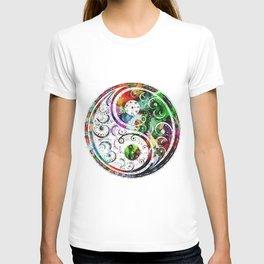 Yin and Yang Balance Poster Print by Robert R T-shirt