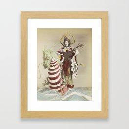 The Sea Goddess Benten, Kusakabe Kimbei, 1887 Framed Art Print