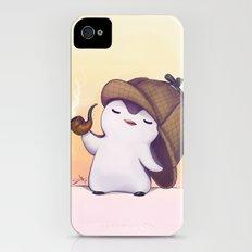 Elementary, My Dear Penguin Slim Case iPhone (4, 4s)