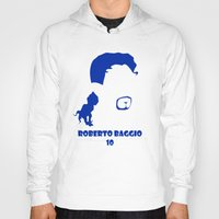 juventus Hoodies featuring Baggio Juventus by Sport_Designs