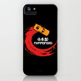 Japanese Car Shirts jdm hatchback iPhone Case