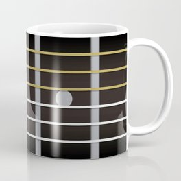 Guitar Neck Fretboard - Music Coffee Mug