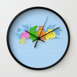 Not So Hungry Anymore Wall Clock