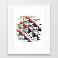 internet Framed Art Prints featuring Internet by iJustlikeMilk