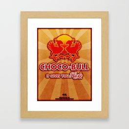 Final Fantasy VII - Choco-Bull Energy Drink Framed Art Print