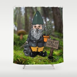 Gnome Grown Shower Curtain