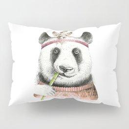 Panda Art Print Pillow Sham