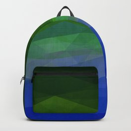 Rainbow Ocean Triangles Backpack
