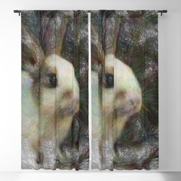 Artistic Animal Bunny 2 Blackout Curtain