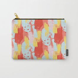Abstract Paint Brush Stroke Carry-All Pouch