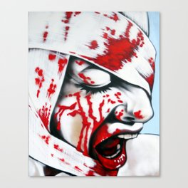 Shock Therapy Canvas Print