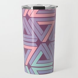 Holographic Candy Geometric Travel Mug