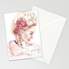 The image of Marie Antoinette Stationery Cards