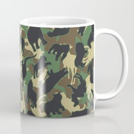 Animals Wild Animal Camo Forest Woodland Camouflage Pattern Coffee Mug