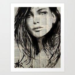 FOR HER Art Print