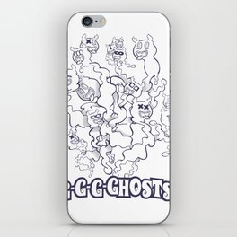 GGGHOSTS! iPhone Skin