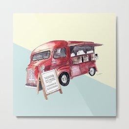 Cafe Truck - Edinburgh, Scotland Metal Print