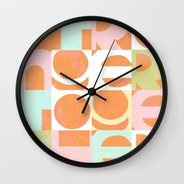 Stronger Together #peachy  Wall Clock